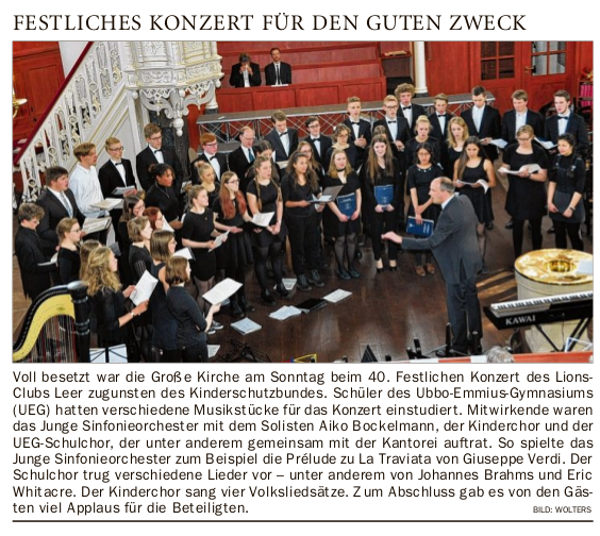 konzert lions club oz 10 Mai 2017